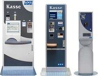 Aufwerter Kassenautomat OPC Chipcard System ePayment