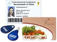 Bezahlmedien KeyFobs RFID Schlüsselanhänger Schulverpflegung