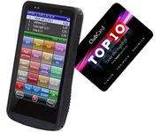 mobiles Kassenterminial Orderterminal mit NFC Kartenleser OPC mobilePOS OPC ChipCard System