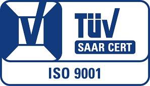 TÜV Saar Zert 9001