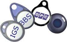 Bezahlmedien KeyFobs RFID Schlüsselanhänger